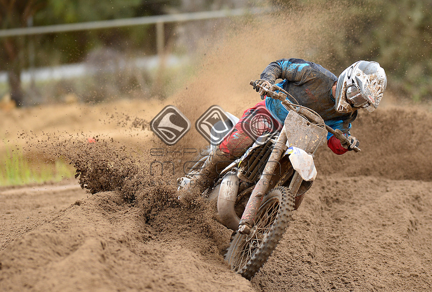 Luke Arbon / / Husqvarna<br /> MXN Round 5 - Wanneroo / MX2<br /> 2014 Monster Energy MX Nationals<br /> Australian Motocross Championship<br /> Wanneroo WA 25th May 2014<br /> &copy; Sport the library / Jeff Crow