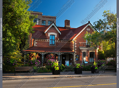 Nathaniel Wallace House historic building in Woodbridge, Vaughan, Ontario, Canada.