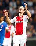 Nederland, Amsterdam, 29 september 2012.Eredivisie .Seizoen 2012-2013.Ajax-FC Twente.Siem de Jong, aanvoerder van Ajax baalt na een gemiste kans.