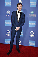 PALM SPRINGS, CA - JANUARY 03: Joseph Mazzello attends the 30th Annual Palm Springs International Film Festival Film Awards Gala at Palm Springs Convention Center on January 3, 2019 in Palm Springs, California.<br /> CAP/ROT/TM<br /> ©TM/ROT/Capital Pictures