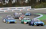 05.10.2019, Hockenheimring, Hockenheim, DTM 2019, Hockenheimring,04.10. - 06.10.2019 , im Bild<br />Rennstart:<br />Rene Rast (DEU#33), Audi Sport Team Rosberg, Mike Rockenfeller (DEU#99), Audi Sport Team Phoenix, Marco Wittmann (DEU#11), BMW Team RMG, Loic Duval (FRA#28), Audi Sport Team Phoenix, Jonathan Aberdein (ZAF#27), WRT Team Audi Sport, Nico Müller (CHE#51), Audi Sport Team Abt Sportsline, Jenson Button (GBR#1), Team Kunimitsu Honda, Robin Frijns (NL#4), Audi Sport Team Abt Sportsline,Sheldon van der Linde (ZAF#31), BMW Team RBM<br /> <br /> Foto © nordphoto / Bratic