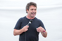 13th July 2019: Comedian Phil Nichol plays day 1 of the 2019 Comedy Crate Festival in Northampton