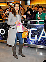 Narita, Japan - April 14th 2012 : Actress Jessica Alba smiles in front of fans who were waiting for her arrival at Narita Airport . She is in Japan with her daughters Haven Garner Warren and Honor Marie Warren and her husband Cash Warren.