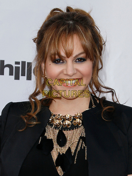 JENNI RIVERA . arriving at the The Cable Show 2010 To Feature An Evening With NBC Universal held at  Universal Studios Hollywood in Universal City, California, USA, .May 12th, 2010..portrait headshot black gold necklace .CAP/ROT/AMB.©Adriana M. Barraza /Roth Stock/Capital Pictures