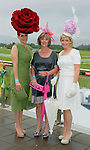 Pictured at the Dawn Dairies Queen of Fashion Ladies Day at Killarney Races were Joann Murphy, Mags Healy and Elaine Kelleher from Kilgarvan.<br /> Picture by Don MacMonagle<br /> <br /> Pr photo from Dawn Daires