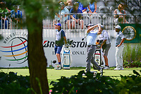 Paul Casey (GBR) watches his tee shot on 10 during Saturday's round 3 of the World Golf Championships - Bridgestone Invitational, at the Firestone Country Club, Akron, Ohio. 8/5/2017.<br /> Picture: Golffile | Ken Murray<br /> <br /> <br /> All photo usage must carry mandatory copyright credit (&copy; Golffile | Ken Murray)