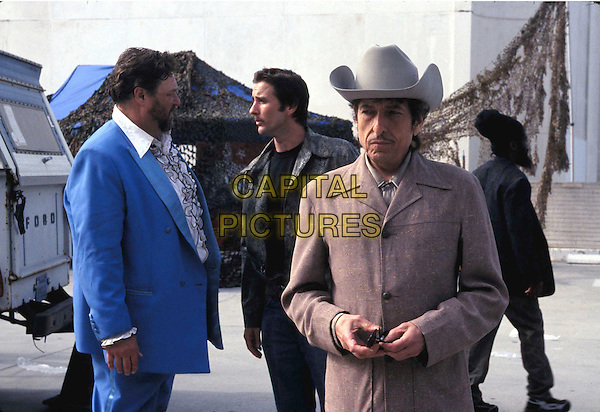 JOHN GOODMAN.LUKE WILSON.BOB DYLAN.in Masked And Anonymous.Filmstill - Editorial Use Only.Ref: FB.sales@capitalpictures.com.www.capitalpictures.com.Supplied by Capital Pictures.