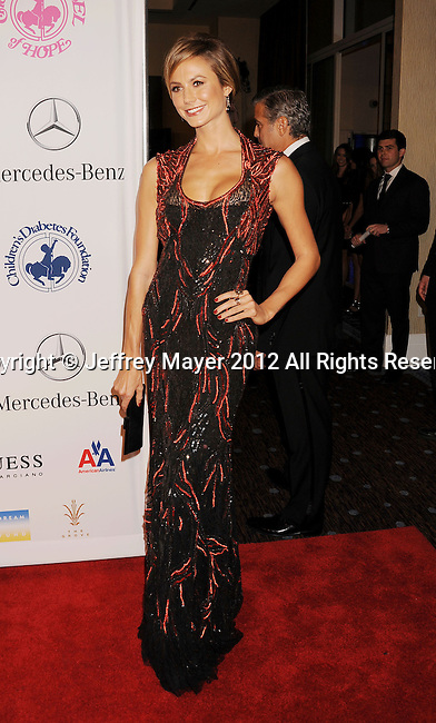 BEVERLY HILLS, CA - OCTOBER 20: Stacy Keibler arrives at the 26th Anniversary Carousel Of Hope Ball presented by Mercedes-Benz at The Beverly Hilton Hotel on October 20, 2012 in Beverly Hills, California.