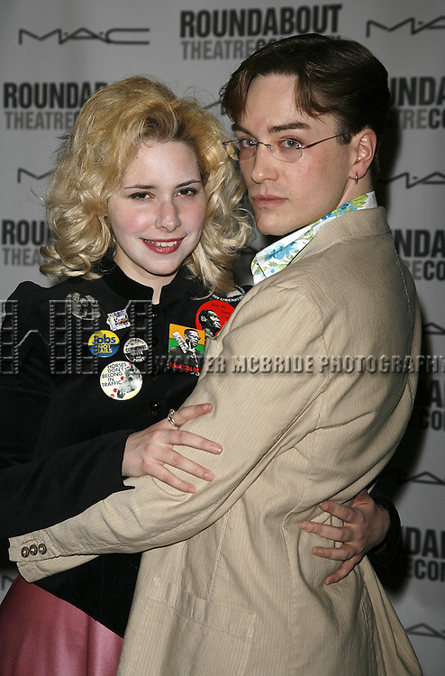 Nellie McKay & Brian Charles Rooney attending the Opening Night after party for the Roundabout Theatre Company's Broadway production of THE THREEPENNY OPERA at Studio 54 in New York City.. April 20, 2006. © Walter McBride/WM Photography