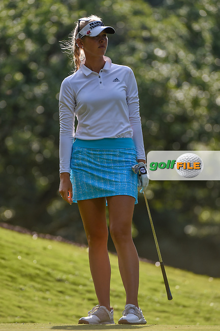 Jessica Korda (USA) watches her tee shot on 11 during round 2 of the 2019 US Women's Open, Charleston Country Club, Charleston, South Carolina,  USA. 5/31/2019.<br /> Picture: Golffile | Ken Murray<br /> <br /> All photo usage must carry mandatory copyright credit (© Golffile | Ken Murray)