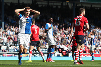 Blackburn Rovers' Tommie Hoban has a header saved <br /> <br /> Photographer Rachel Holborn/CameraSport<br /> <br /> The EFL Sky Bet Championship - Blackburn Rovers v Barnsley - Saturday 8th April 2017 - Ewood Park - Blackburn<br /> <br /> World Copyright &copy; 2017 CameraSport. All rights reserved. 43 Linden Ave. Countesthorpe. Leicester. England. LE8 5PG - Tel: +44 (0) 116 277 4147 - admin@camerasport.com - www.camerasport.com