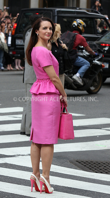 WWW.ACEPIXS.COM . . . . .  ....September 8 2009, New York City....Actress Kristin Davis on the Fifth Avenue set of the new 'Sex and the City' movie on September 8 2009 in New York City....Please byline: AJ Sokalner - ACEPIXS.COM..... *** ***..Ace Pictures, Inc:  ..tel: (212) 243 8787..e-mail: info@acepixs.com..web: http://www.acepixs.com
