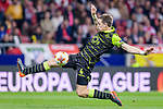 Sebastian Coates of Sporting CP in action during the UEFA Europa League quarter final leg one match between Atletico Madrid and Sporting CP at Wanda Metropolitano on April 5, 2018 in Madrid, Spain. Photo by Diego Souto / Power Sport Images