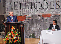 SAO PAULO, SP, 20 SETEMBRO 2012 - ELEICOES SP - ARQUIDIOCESE DE SAO PAULO - <br /> O candidato &agrave; Prefeitura de S&atilde;o Paulo Jos&eacute; Serra (PSDB) participa de debate promovido, pela primeira vez, pela Arquidiocese de S&atilde;o Paulo, no bairro do Tatuap&eacute;, zona leste da cidade, nesta quinta-feira (20). Chamado de &quot;col&oacute;quio&quot; e com a presen&ccedil;a de cerca de 300 padres das par&oacute;quias da capital, o evento re&uacute;ne os primeiros colocados na disputa, menos Celso Russomanno (PRB). (FOTO: WILLIAM VOLCOV / BRAZIL PHOTO PRESS).