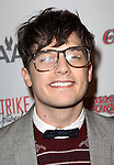 Andy Mientus sporting a pair of signature 'Ralphie' specs at the Broadway Opening Night Performance for 'A Christmas Story - The Musical'  at the Lunt Fontanne Theatre in New York City on 11/19/2012.
