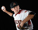 Arizona Diamondbacks Tim Stauffer (43) during photo day on February 28, 2016 in Scottsdale, AZ.