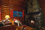 Cabin near Moosehead Lake, Tomhegan Township, Maine, USA