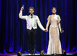 Thommy Ten and Amelie van Tass, The Clairvoyants from 'The Illusionists' during a press preview of 'The Illusionists - Turn of the Century' at The Theater Center on November 29, 2016 in New York City.