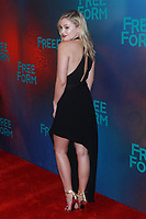 NEW YORK, NY - APRIL 19: Olivia Holt at The 2017 Freeform Upfront in New York City on April 19, 2017. <br /> CAP/MPI/DIE<br /> &copy;DIE/MPI/Capital Pictures