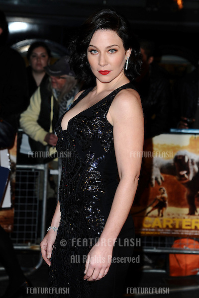 "Lynn Collins at the ""John Carter"" premiere at the BFI South Bank, London. 02/03/2012 Picture by: Steve Vas / Featureflash"
