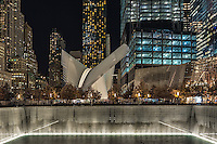 Nighttime at the World Trade Center<br />
