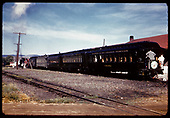 Excursion train - Antonito.<br /> D&amp;RGW  Antonito, CO