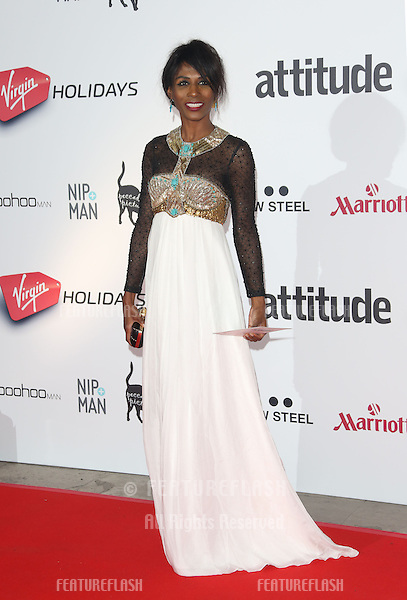 Sinitta at the Attitude Magazine Awards 2013 - Arrivals held at the Royal Courts of Justice, London. 15/10/2013 Picture by: Henry Harris / Featureflash