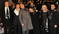 Sir David Hare, Oleg Ivenko, Ralph Fiennes, Gabrielle Tana, guest and Ilan Eshkeri at the &quot;The White Crow&quot; UK film premiere, Curzon Mayfair, Curzon Street, London, England, UK, on Tuesday 12th March 2019.<br /> CAP/CAN<br /> &copy;CAN/Capital Pictures