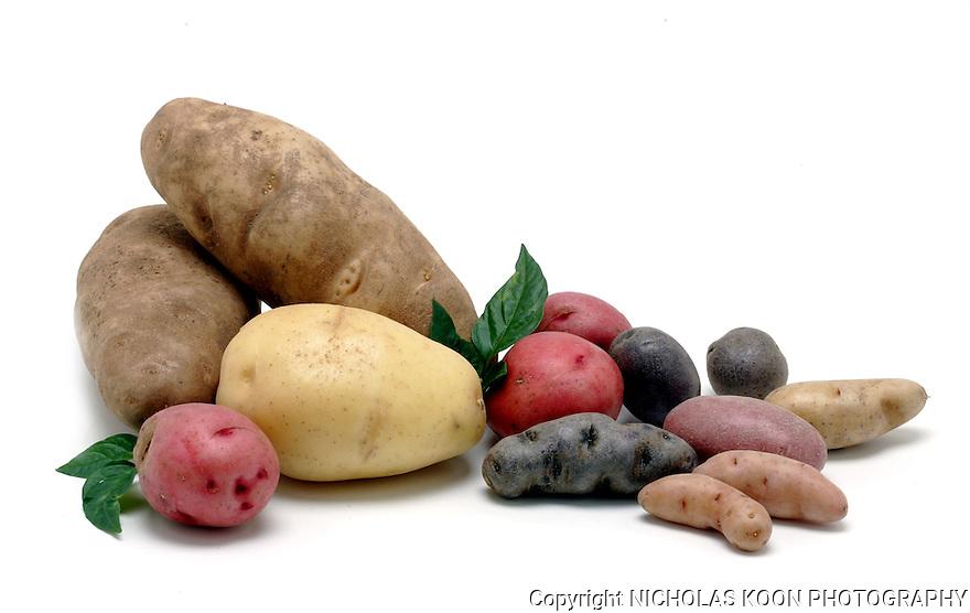 Potatoes still life.