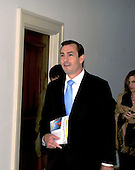 Washington, DC - May 20, 2008 -- United States Representative Vito J. Fossella (Republican of New York) arrives at his Capitol Hill office in Washington, DC on Tuesday, May 20, 2008.  Fossella announced he will not run for re-election in November..Credit: Ron Sachs / CNP
