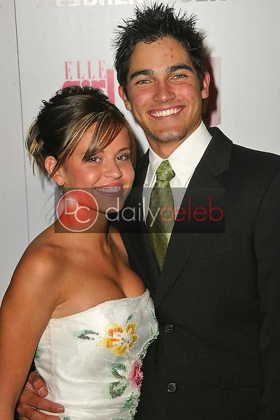 Brooke Pierson and Tyler Hoechlin