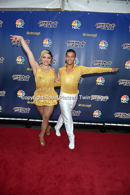 "Baila Conmigo attends the kick off  of Season 9's live voting rounds of ""America's Got Talent""  at Radio City Music Hall on July 29, 2014 in New York City."
