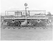 Side view of D&amp;RGW flanger #OC at Alamosa.<br /> D&amp;RGW  Alamosa, CO  Taken by Payne, Andy M. - 7/3/1969