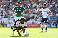 Preston North End's Daniel Johnson eyes up the Sheffield Wednesday goal ahead of scoring his sides opening goal from the penalty spot<br /> <br /> Photographer Rich Linley/CameraSport<br /> <br /> The EFL Championship - Preston North End v Sheffield Wednesday - Saturday August 24th 2019 - Deepdale Stadium - Preston<br /> <br /> World Copyright © 2019 CameraSport. All rights reserved. 43 Linden Ave. Countesthorpe. Leicester. England. LE8 5PG - Tel: +44 (0) 116 277 4147 - admin@camerasport.com - www.camerasport.com