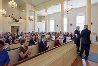 Andover Newton and Yale Divinity School Affiliation Signing Ceremony 20 July 2017 at the First Church of Christ Congregational, Glastonbury, CT