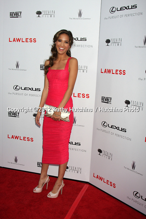 "LOS ANGELES - AUG 22:  Kelsey Chow arrives at the ""Lawless"" LA Premiere at ArcLight Theaters on August 22, 2012 in Los Angeles, CA"