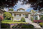 Seattle, Ravenna neighborhood, Classic Craftsman bungalow,