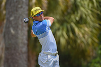 Rafael Cabrera Bello (ESP) watches his tee shot on 2 during round 1 of The Players Championship, TPC Sawgrass, at Ponte Vedra, Florida, USA. 5/10/2018.<br /> Picture: Golffile | Ken Murray<br /> <br /> <br /> All photo usage must carry mandatory copyright credit (&copy; Golffile | Ken Murray)