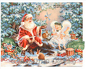 Dona Gelsinger, CHRISTMAS SANTA, SNOWMAN, classical, paintings(USGE35661,#X#) Weihnachtsmänner, Papá Noel, Weihnachten, Navidad, illustrations, pinturas klassisch, clásico