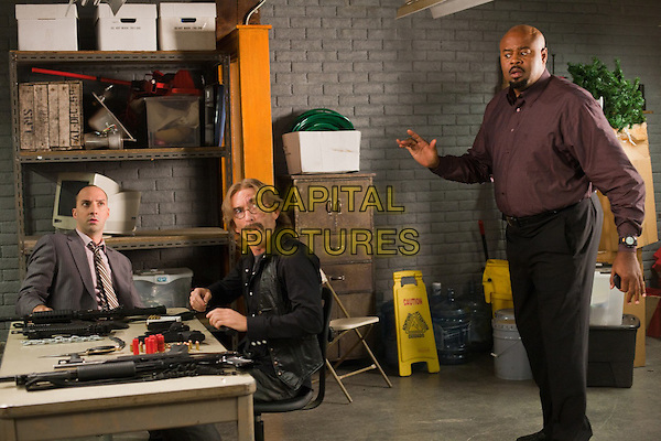 "Jackie Earle Haley & Chi McBride.in Human Target (season 2, episode 7, ""Communication Breakdown"").*Filmstill - Editorial Use Only*.CAP/NFS.Supplied by Capital Pictures."