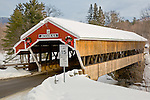 Jackson Honeymoon covered bridge in Jackson, White Mountains region, NH