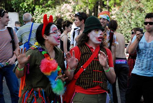Gay Pride in Jerusalem. Day parade à Jerusalem