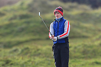 Thomas Higgins (Roscommon) on the 10th fairway during Round 3 of the Ulster Boys Championship at Portrush Golf Club, Portrush, Co. Antrim on the Valley course on Thursday 1st Nov 2018.<br /> Picture:  Thos Caffrey / www.golffile.ie<br /> <br /> All photo usage must carry mandatory copyright credit (&copy; Golffile | Thos Caffrey)