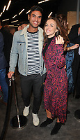 Guest & Louisa Lytton at the Bodyworlds human anatomy exhibition VIP launch, The London Pavilion, Piccadilly Institute, London, England, UK, on Thursday 04 October 2018.<br /> CAP/CAN<br /> ©CAN/Capital Pictures