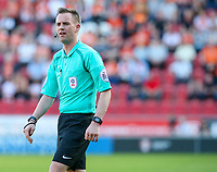 Referee Ross Joyce<br /> <br /> Photographer Alex Dodd/CameraSport<br /> <br /> The EFL Sky Bet League One - Rotherham United v Blackpool - Saturday 5th May 2018 - New York Stadium - Rotherham<br /> <br /> World Copyright &copy; 2018 CameraSport. All rights reserved. 43 Linden Ave. Countesthorpe. Leicester. England. LE8 5PG - Tel: +44 (0) 116 277 4147 - admin@camerasport.com - www.camerasport.com