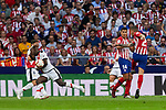 Atletico de Madrid's Lucas Hernandez and Rayo Vallecano's Luis Advincula during La Liga match. August 25, 2018. (ALTERPHOTOS/A. Perez Meca)