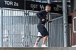 07.07.2020, Trainingsgelaende am wohninvest WESERSTADION,, Bremen, GER, 1.FBL, Werder Bremen - der Tag nach Heidenheim, im Bild<br /> <br /> <br /> Leonardo Bittencourt  (Werder Bremen #10) <br /> <br /> <br /> kleines Taenzchen<br /> <br /> Foto © nordphoto / Kokenge