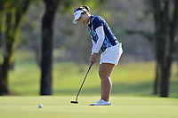 PATTAYA, THAILAND - FEBRUARY 22: Moriya Jutanugarn of Thailand 3rd shot on the 2nd green during the second round of the Honda LPGA Thailand 2019 at Siam Country Club Pattaya (Old Course), Pattaya, Thailand on February 22, 2019.<br /> .<br /> .<br /> .<br /> (Photo by: Naratip Golf Srisupab/SEALs Sports Images)<br /> .<br /> Any image use must include a mandatory credit line adjacent to the content which should read: Naratip Golf Srisupab/SEALs Sports Images