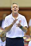 Karch Kiraly head coach (USA),<br /> AUGUST 16, 2013 - Volleyball :<br /> 2013 FIVB World Grand Prix, Preliminary Round Week 3 Pool M match United States 3-0 Czech Republic at Sendai Gymnasium in Sendai, Miyagi, Japan. (Photo by Ryu Makino/AFLO)