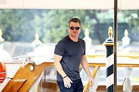 VENICE, ITALY - September 1st: Matt Damon arrives at Darsena Excelsior during 74th Venice Film Festival at Excelsior Hotel on September 1st, 2017 in Venice, Italy.<br /> 74ma Mostra del Cinema di Venezia (Mark Cape/insidefoto)